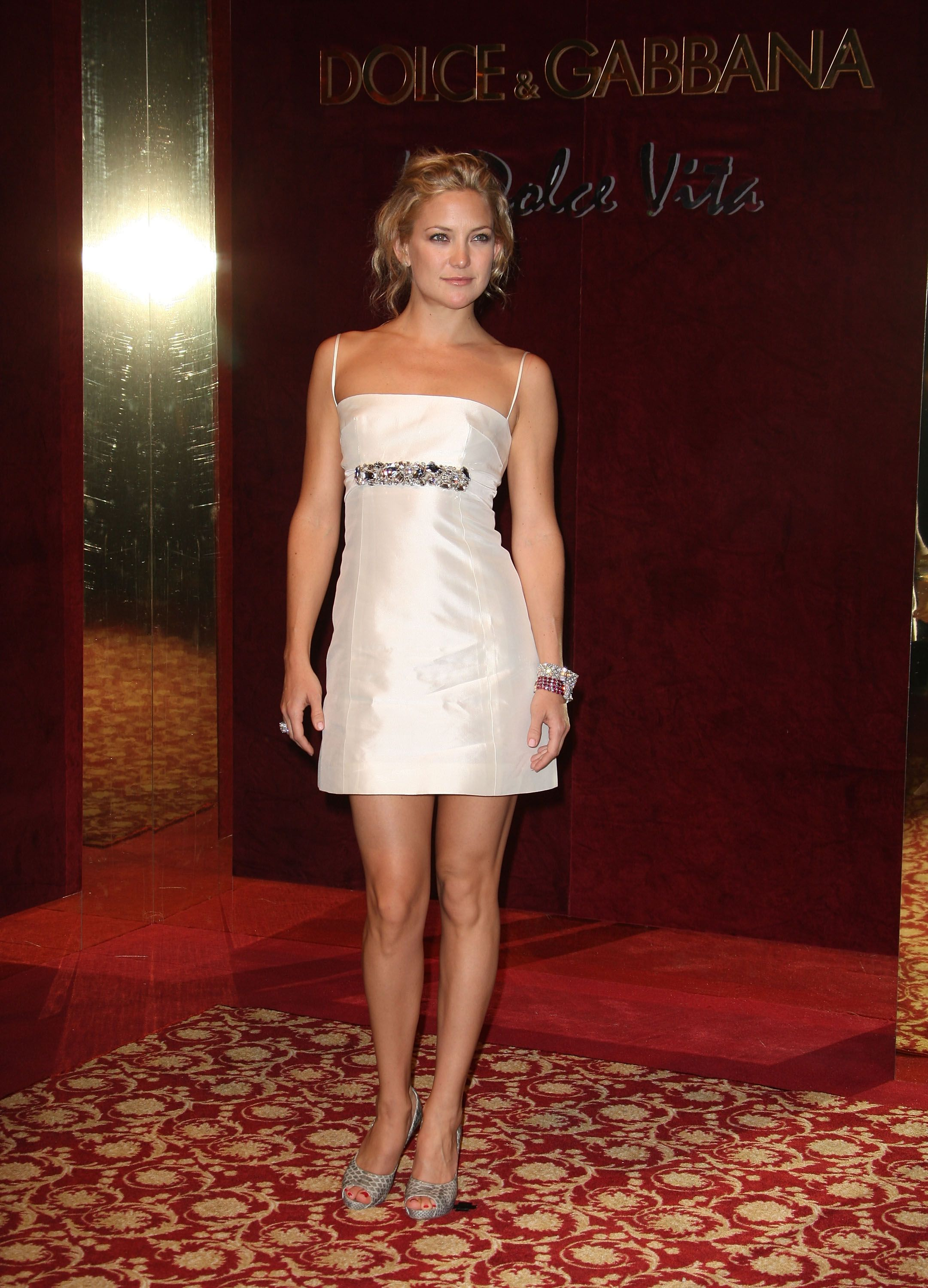 Kate Hudson Walked Into The Dolce And Gabanna Party At The 61st