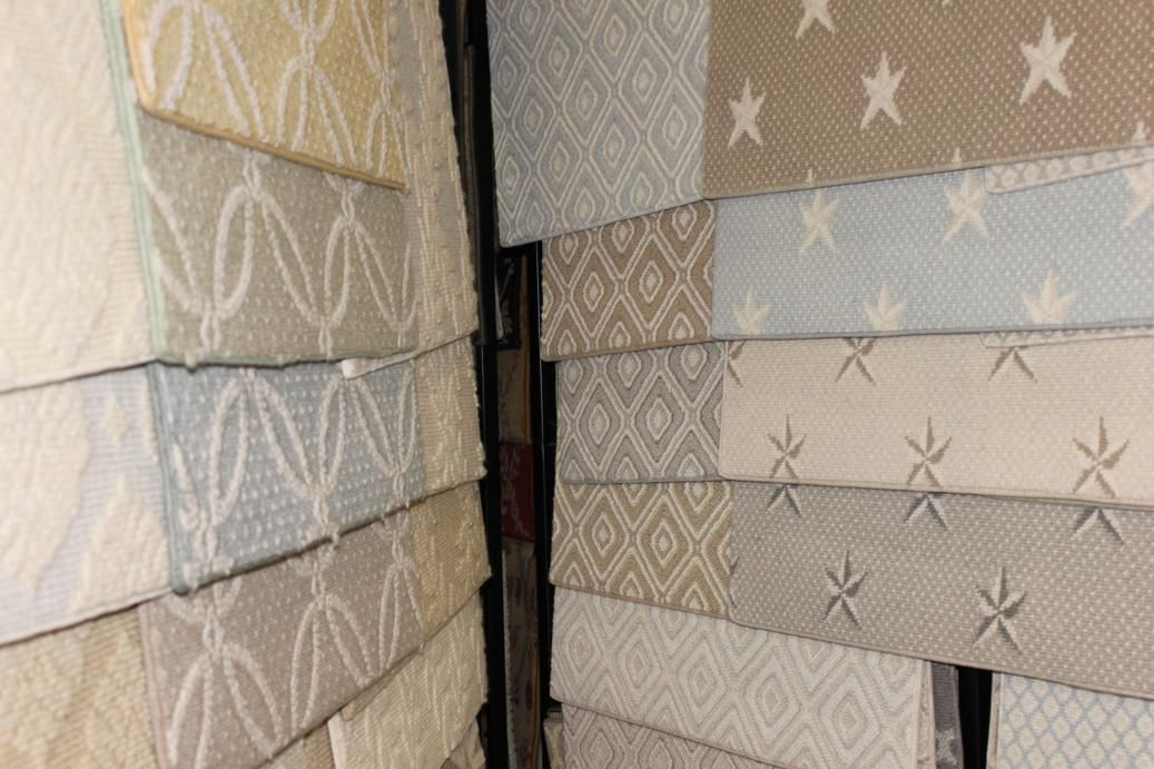Sample of our wall to wall carpet selection