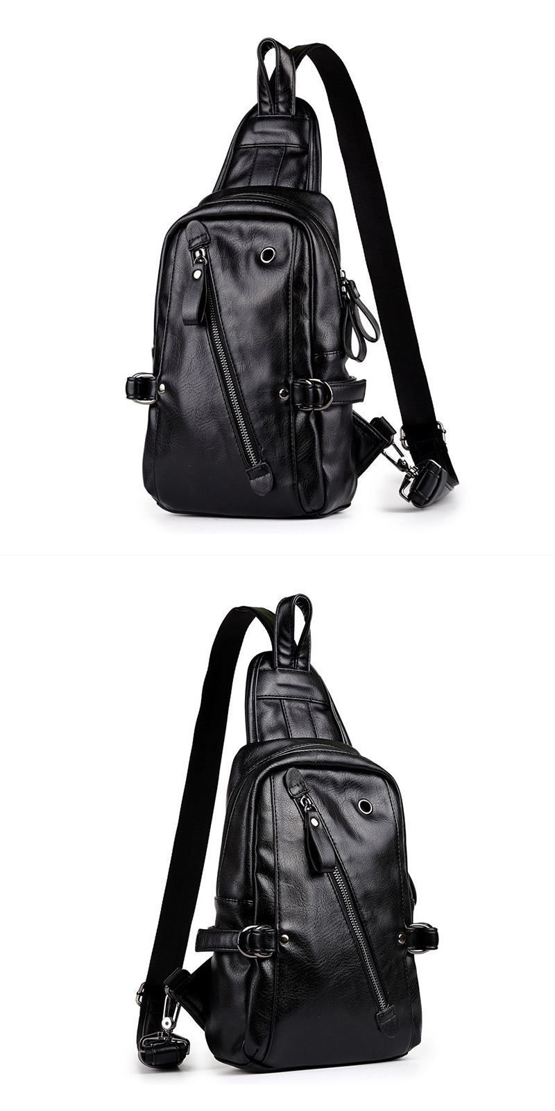 38a56a2389fc Wholesale New Arrival Fashion Men Crossbody Casual Style PU Bag ...