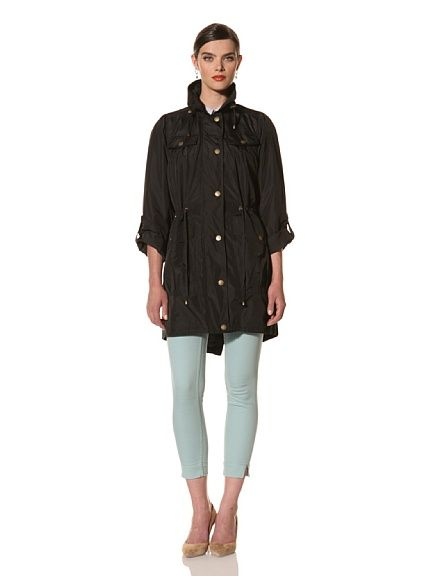 Hawke & Co Women's Long Anorak (BLACK)
