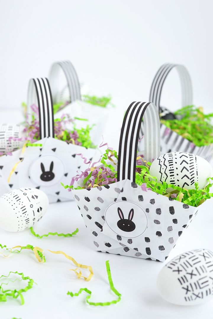 Photo of Tinker Easter baskets: 101 instructions and ideas with paper, felt, crochet thread, etc. – House decoration more