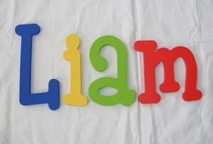 ... Hand Painted Wooden Wall Letters Baby Child Nursery Decor Wood | eBay, 300x204 in 12.6KB