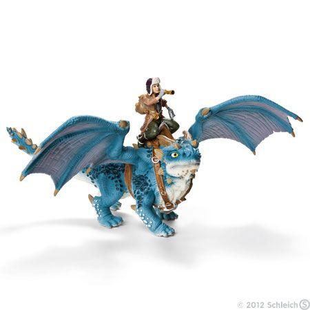 Schleich Bayala Shansy, rider & dragon