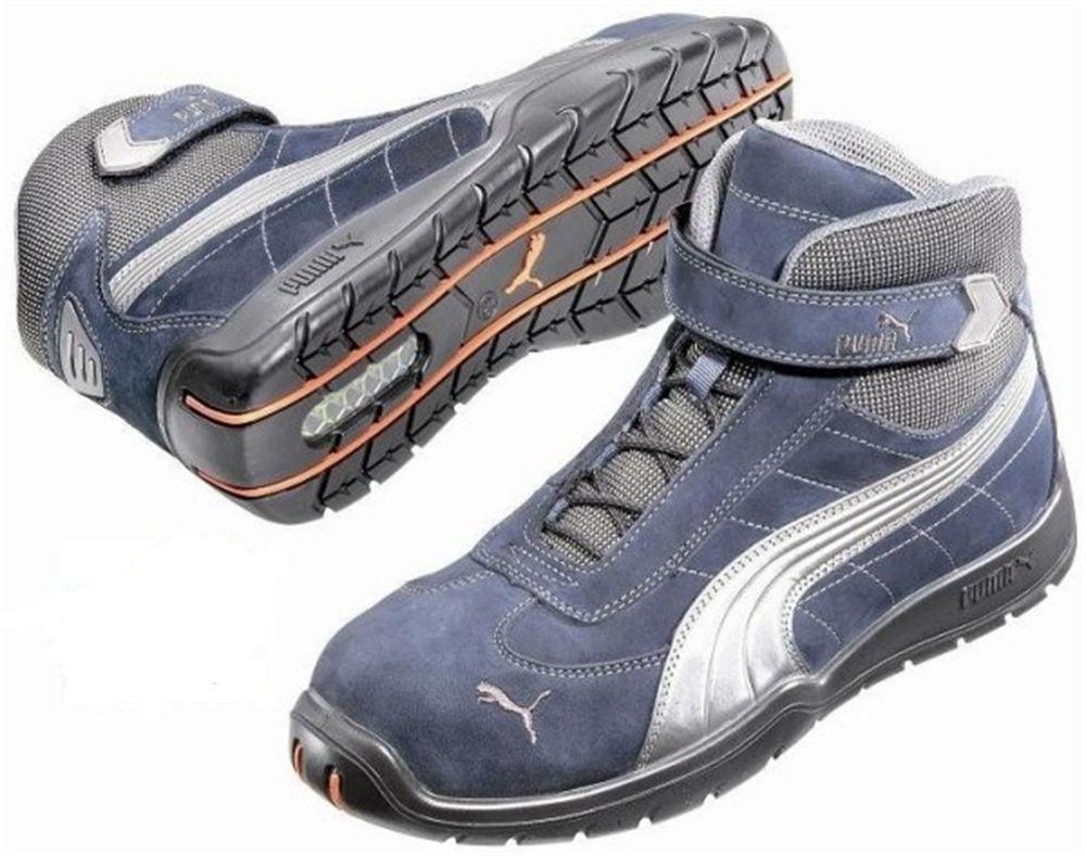Puma race 63217 sneakers blauwgrijs