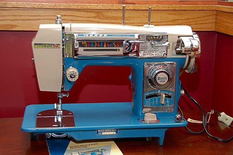 Morse 40 Fotomatic IV Courtesy Of Mandatory40 Serial 40 JCZ Enchanting Morse 4400 Sewing Machine