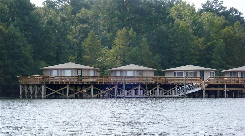 Delicieux The Popular Pier Cabins At Santee State Park, South Carolina. Catfish,  Camping,
