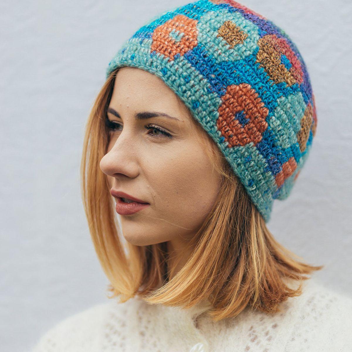 Tija Crochet | Knitted crocheted hats. Adītas, tamborētas cepures ...