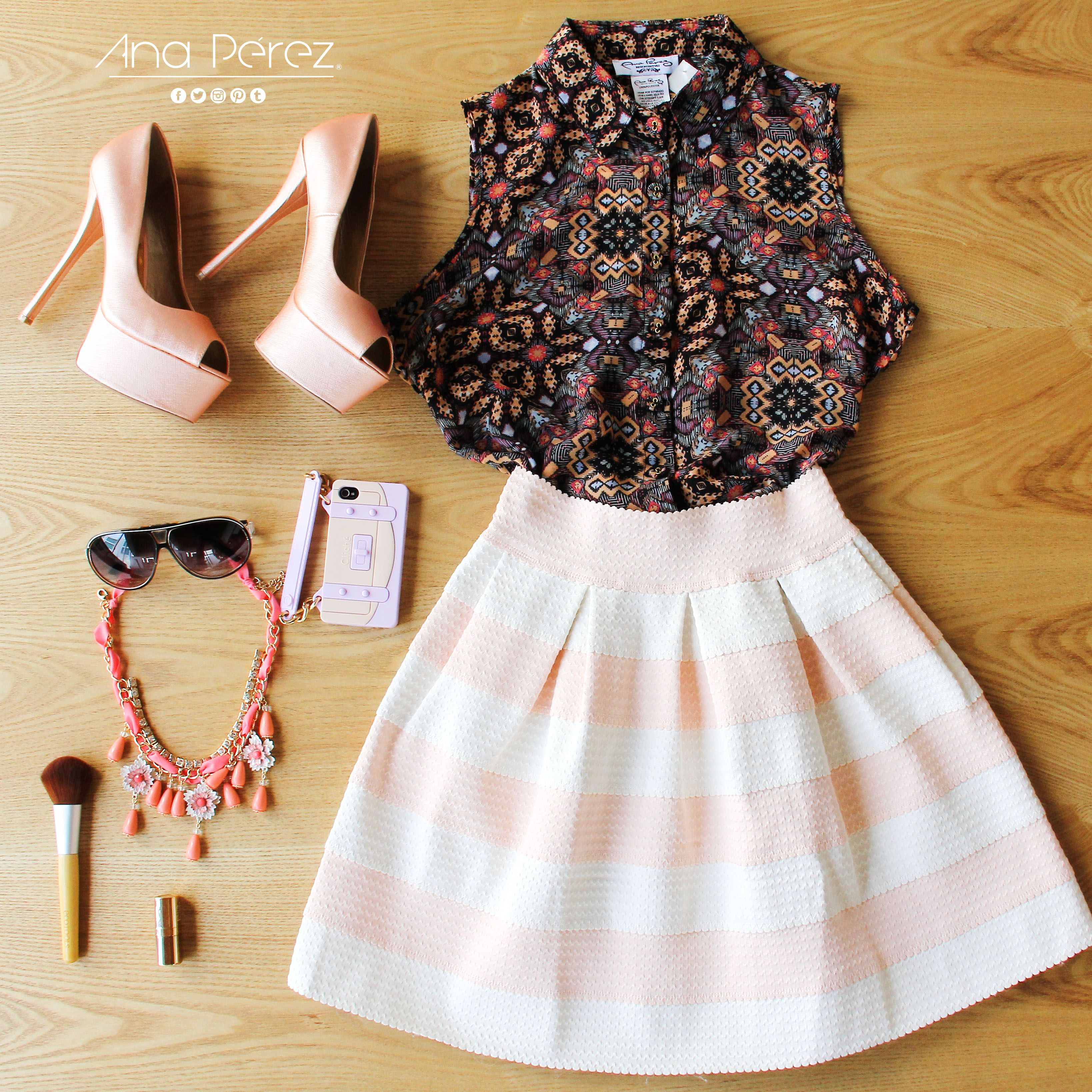 PERFECCIÓN TOTAL <3 <3 <3 #casual #trendy #shopp #beauty #girl #fresco #trendy #summer #shop #love #flores #TFLers #tweegram LIKE LIKE LIKE