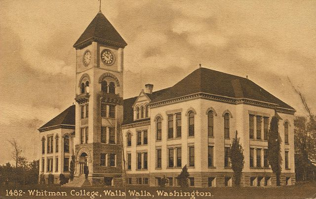 walla walla washington whitman college homes  images   Whitman College - Walla Walla, Washington