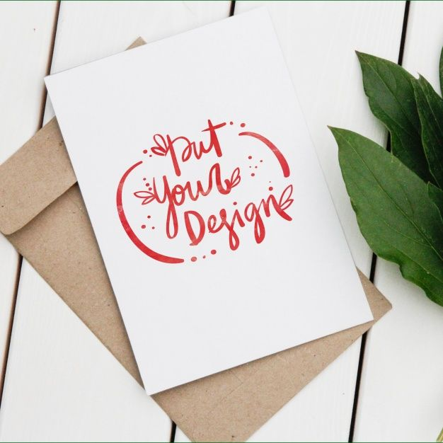 Greeting cards template design Free Psd Mockup Templates - greeting card templates