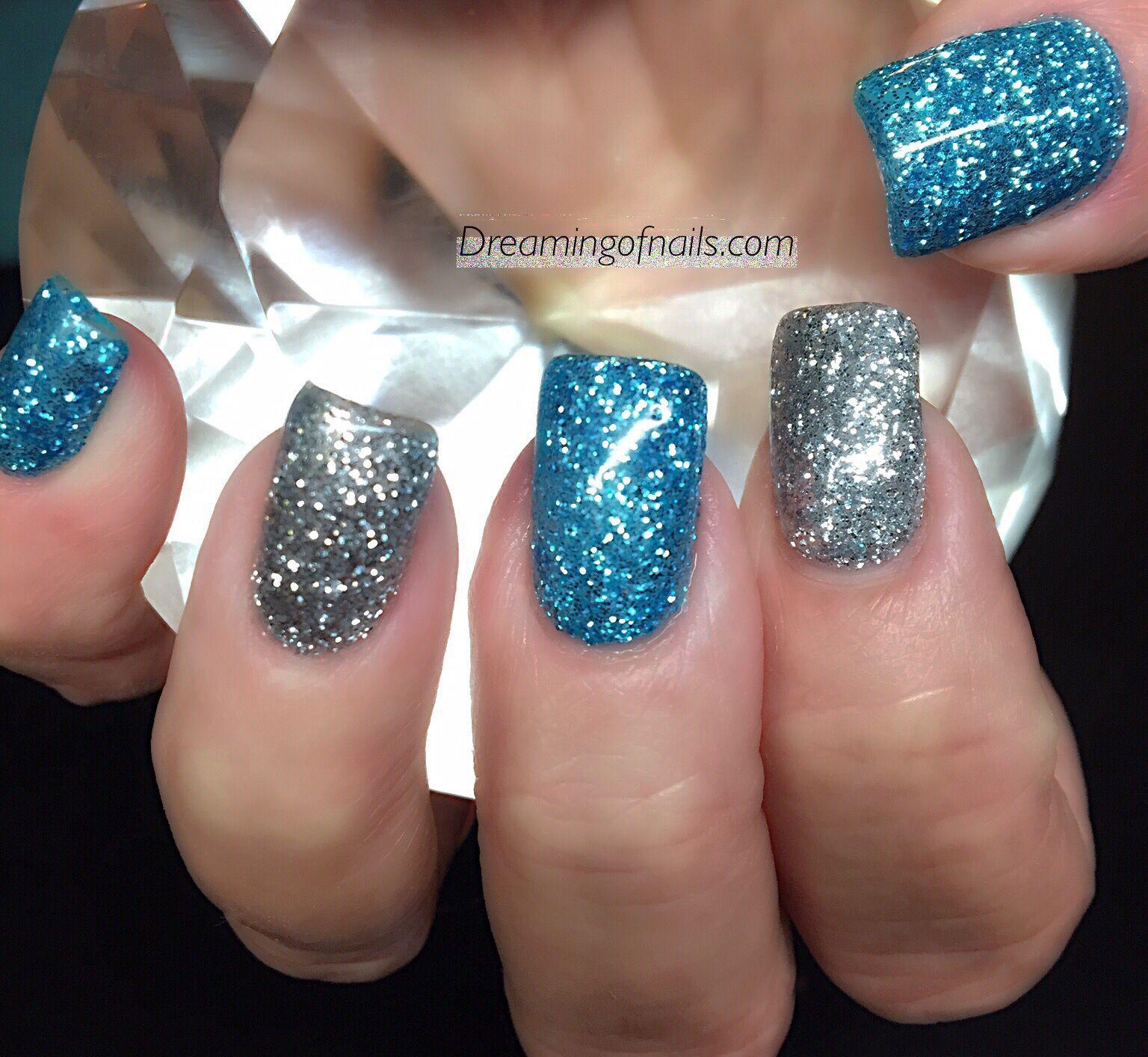Nail Designs Turquoise Silver Nails Nail Art Nails Ideas Nails