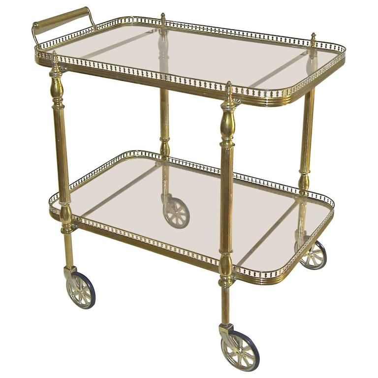 French Neoclassic Vintage Brass Bar Cart From A Unique Collection Of Antique And Modern Bar Carts At Https Www 1st Furniture Modern Bar Cart Brass Bar Cart Antique brass bar cart