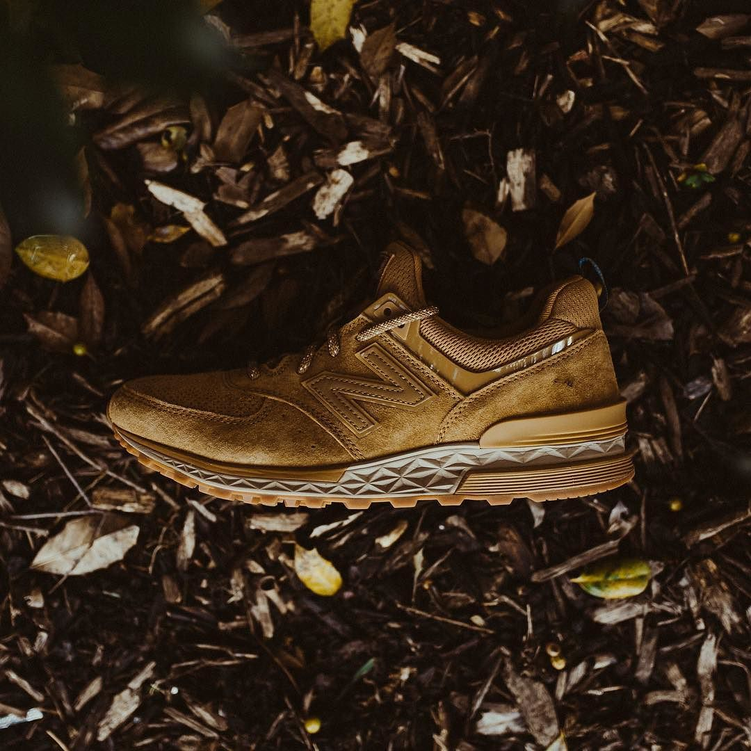 new product 4d54e 830a9 New Balance MS574CB (Tan/Brown) - $110 Available at RCK In ...