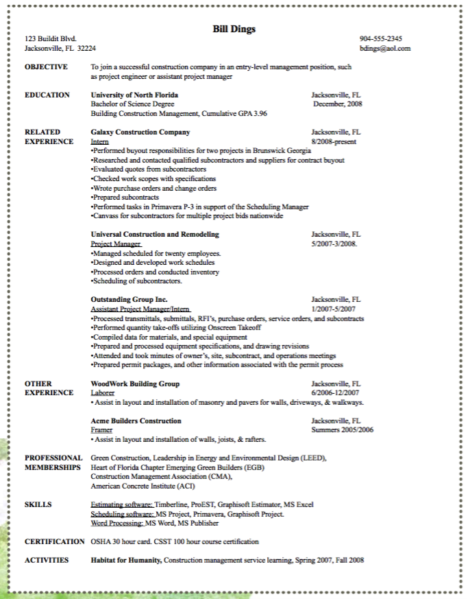sample framer resume http exampleresumecv org sample framer