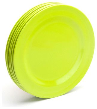 Lime Green Dinner Plates modern dinnerware  sc 1 st  Pinterest & Lime Green Dinner Plates modern dinnerware | Lime Green | Pinterest ...