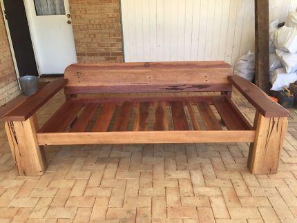 Custom Built Rustic Daybeds /Bench Seats | Lounging U0026 Relaxing Furniture |  Gumtree Australia Swan