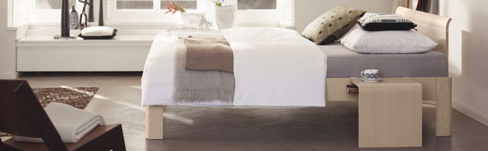 Das Auronde In Heller Holzoptik Design Bett Bed Schlafzimmer