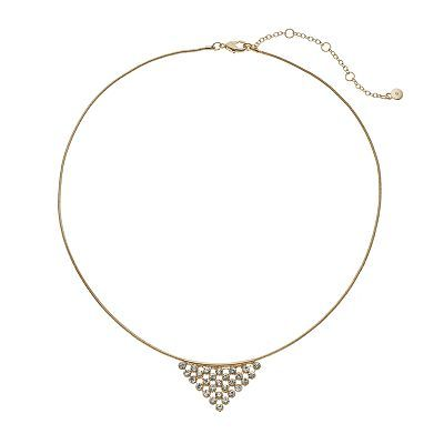 LC Lauren Conrad Triangle Pendant Necklace