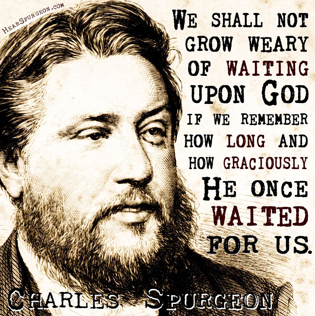 Charles Spurgeon Picture Quotes - Hear Spurgeon