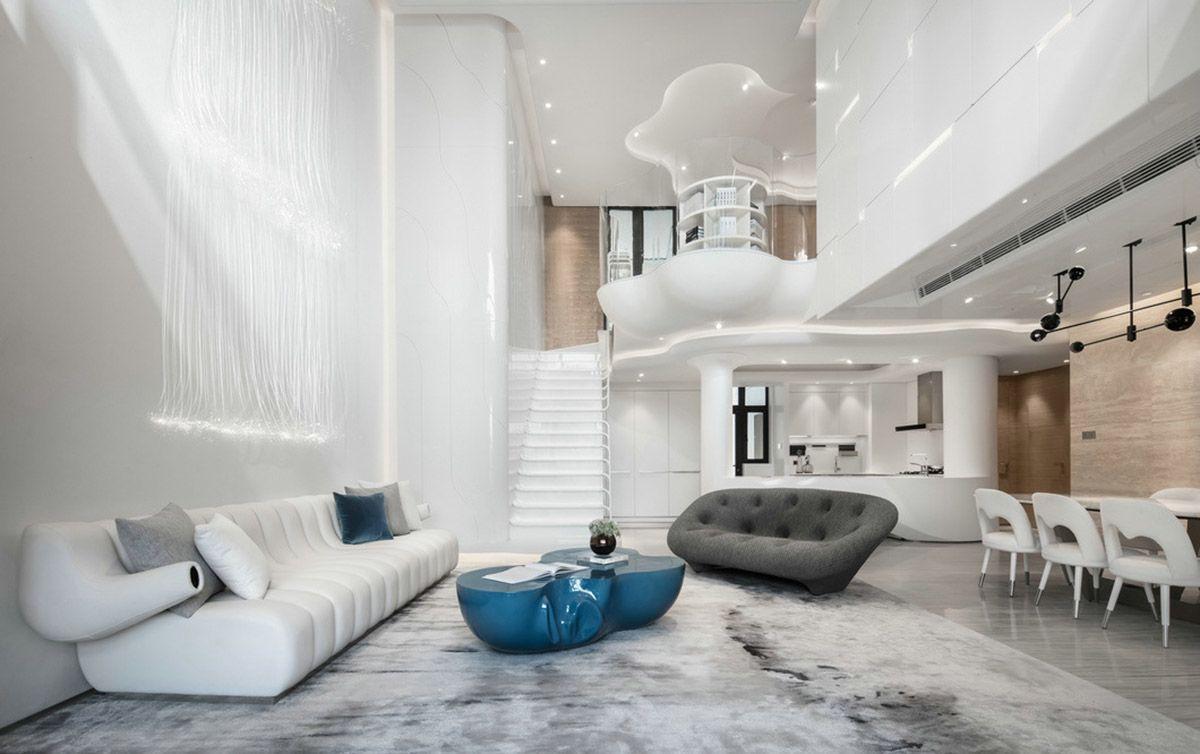 Organic Architecture And Futuristic Decor Home Tour Organic