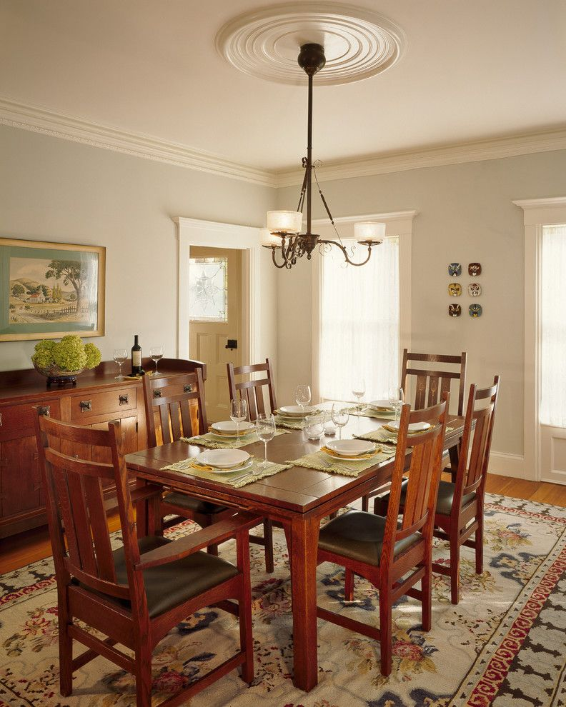 Craftsman Dining Room Design | Home Decor | Craftsman dining ...