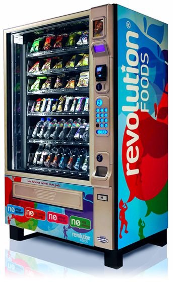 Revolution Foods Healthy Vending Machine Healthy Vending