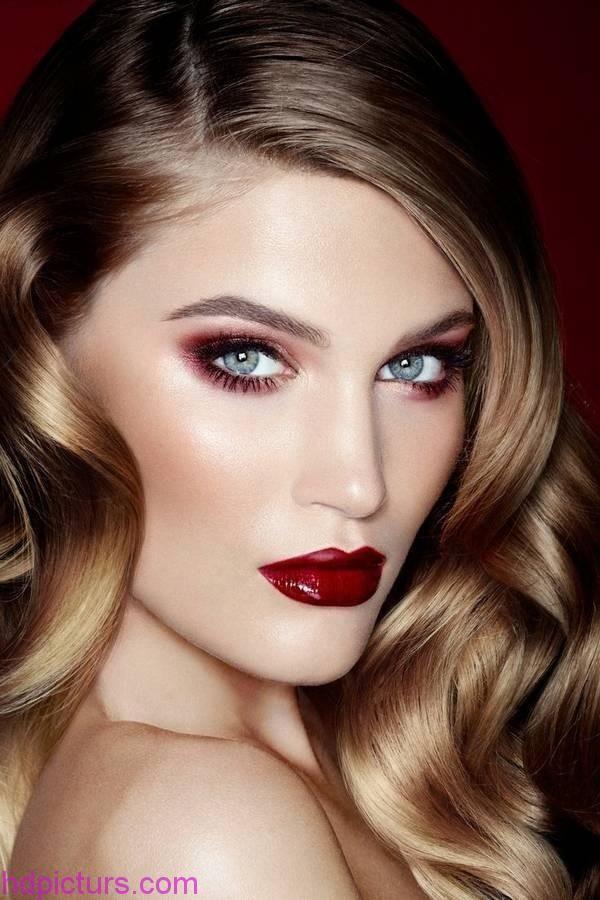 صور مكياج 2017 مكياج ناعم و كيف اضع المكياج و افضل مركات المكياج في العالم مع اخذث مكيتج لسنة 2017 مع اجمل مكي Vamp Makeup Charlotte Tilbury Makeup Hair Beauty