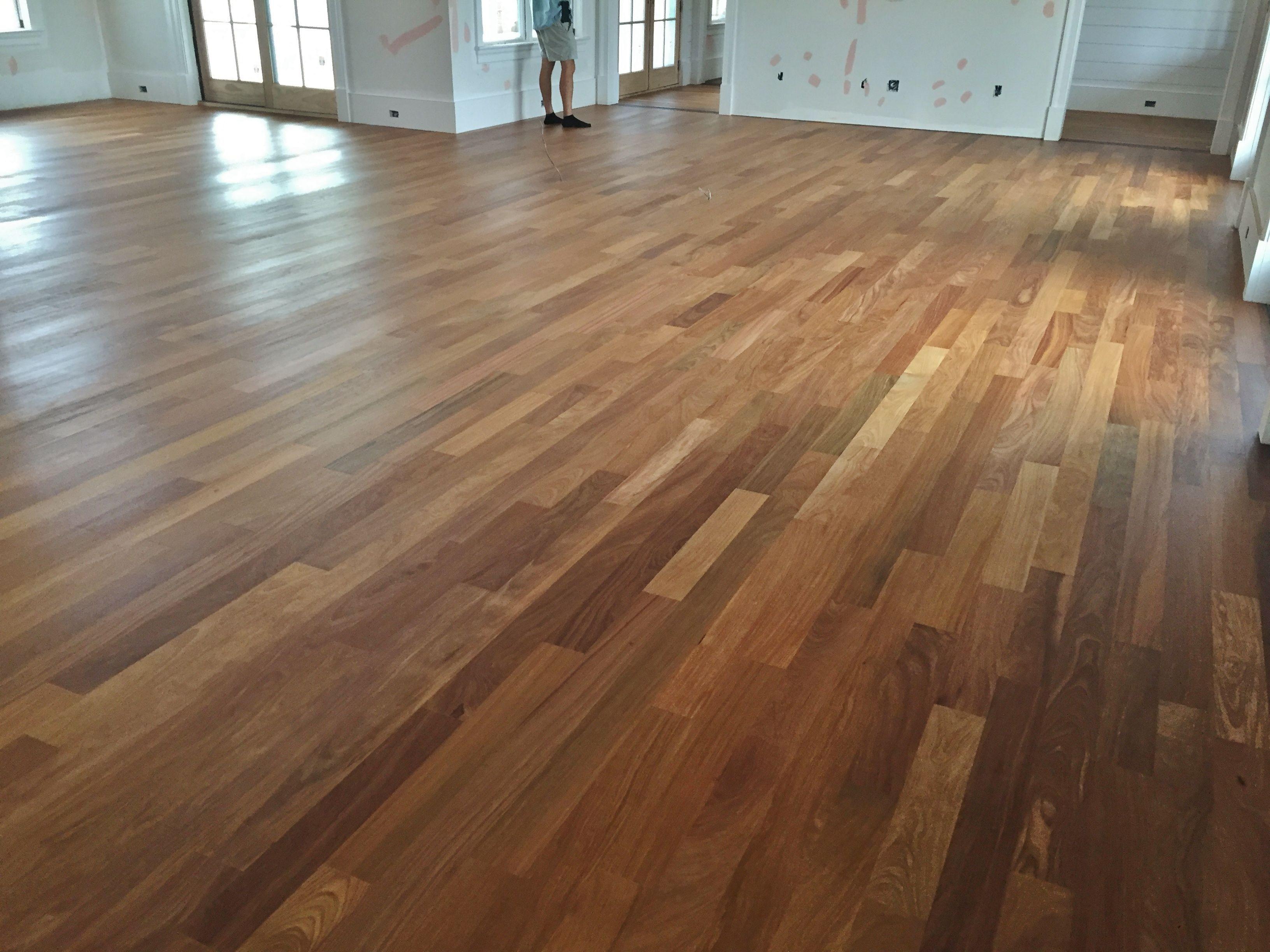 1 Select White Oak hardwood flooring