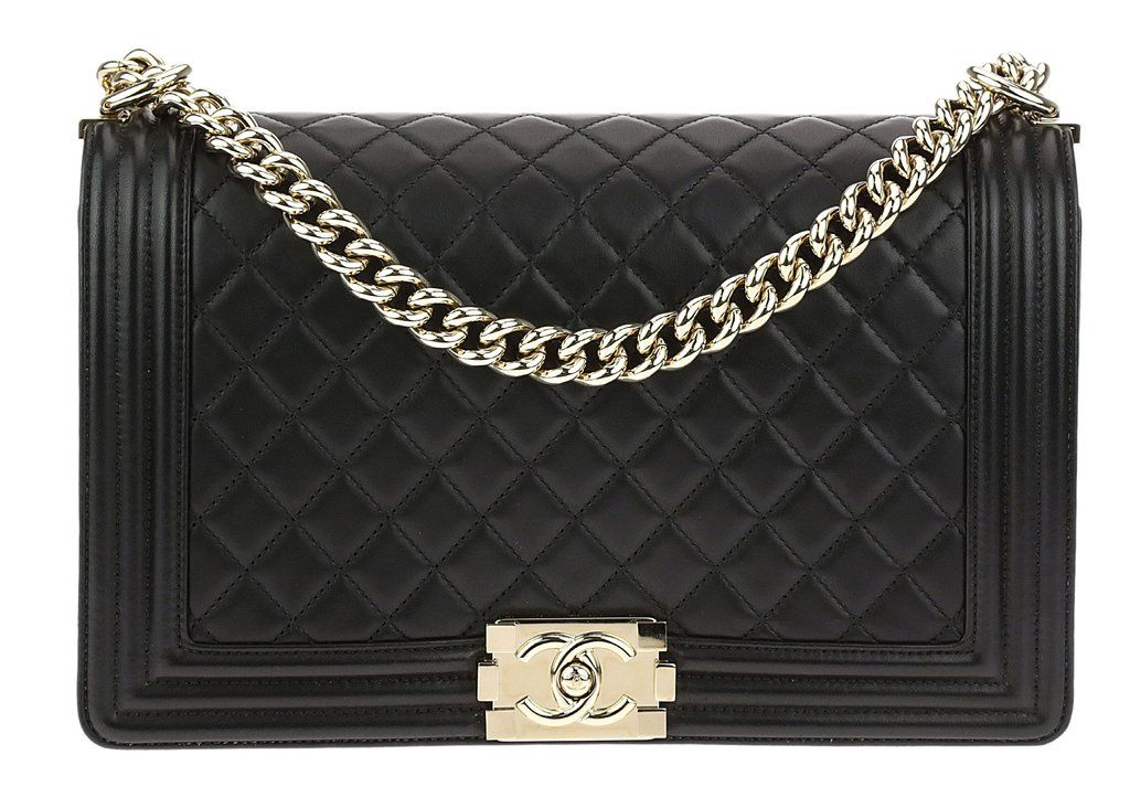This Chanel Black Quilted Lambskin New Medium Boy Bag Will Easily Become Your Everyday