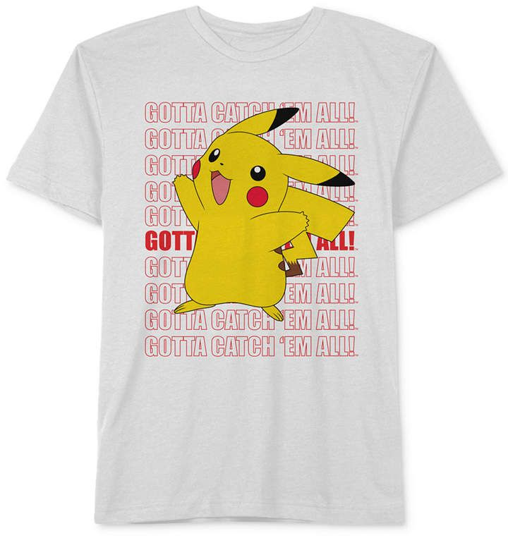 697386dd0 Pokémon Big Boys Pikachu Graphic Cotton T-Shirt | Products | Pokémon ...
