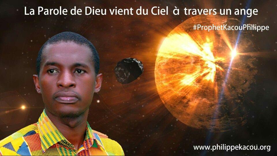 LA PAROLE DE DIEU NE VIENT QU'AU PROPHÈTE