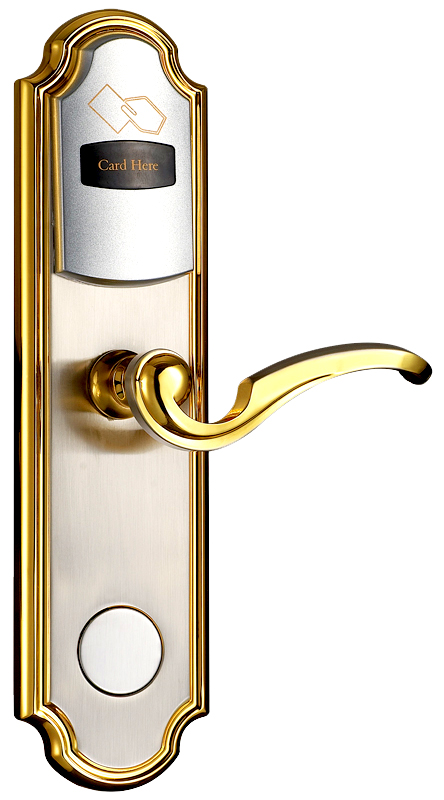 149 00 Keyless Door Lock Utilizes Non Contact Computer Generated Encrypted Id Card For Identification Custo In 2020 Electronic Lock Keyless Door Lock Door Locks