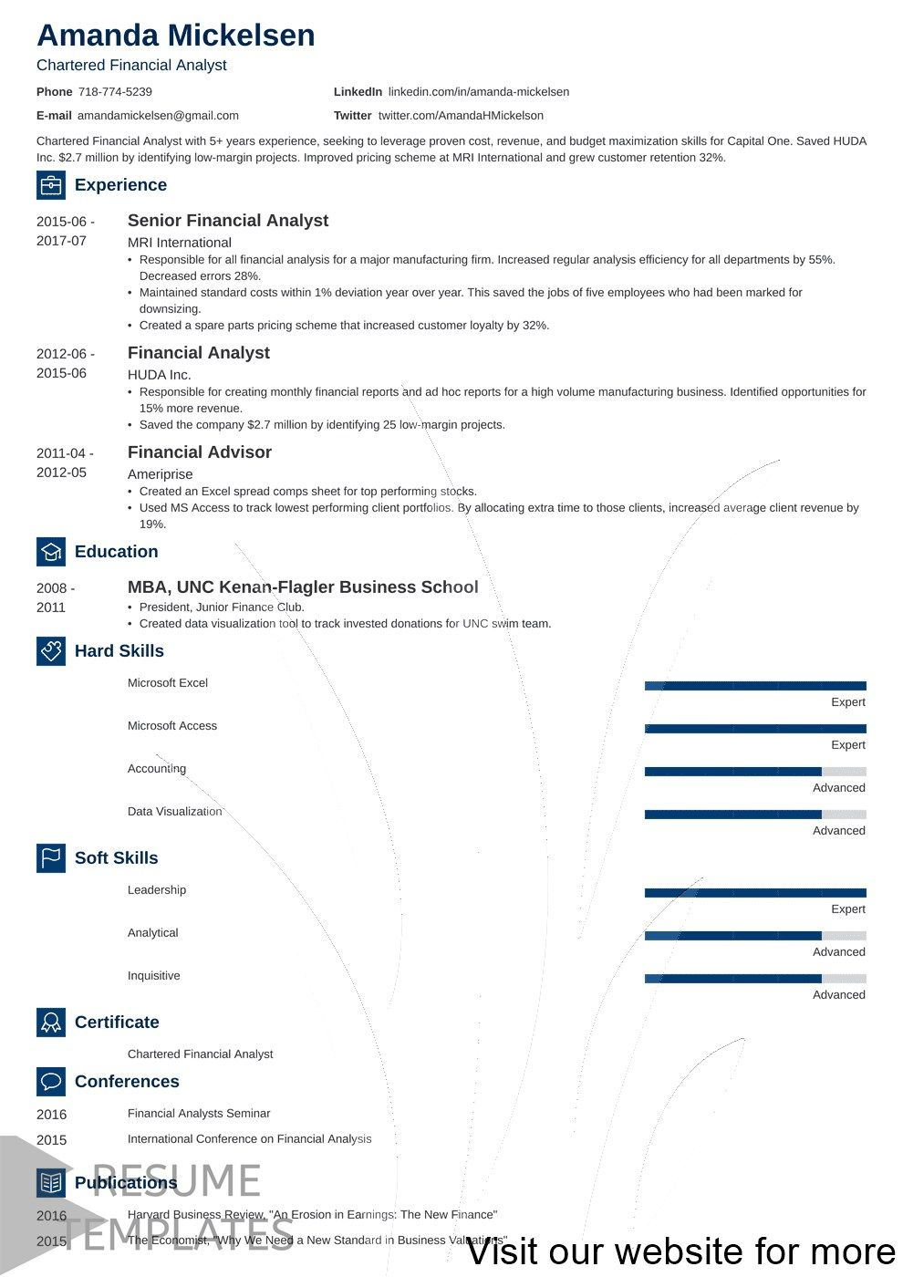 resume examples skills Professional in 2020 Resume
