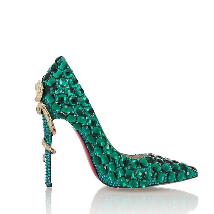 Lacitena Rot Perlen High Heels Schuhe Damen Hochzeits Schuhe