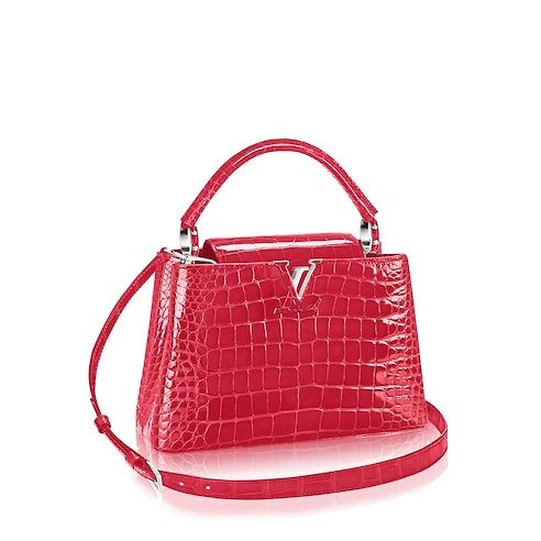 9922a9f21116 Image result for louis vuitton capucine crocodile