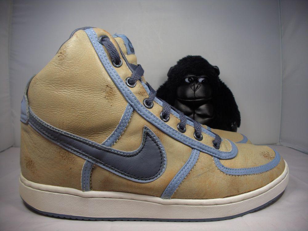 c3b7fab821d1 Mens Nike Air Force One Basketball Shoes Size 10.5 US Vintage 307815-201   Nike  BasketballShoes