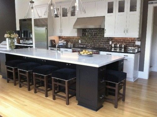Dream Kitchen With An Island That Is 4 X 10 Or 12 Long