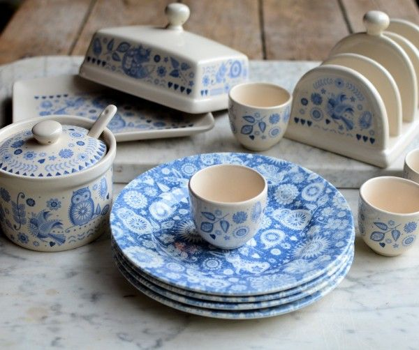 I am thrilled to be able to offer all Lavender and Lovage readers the chance to win ONE of FOUR beautiful Churchill China Penzance Breakfast Sets with a ... & Churchill China The Caravan Trail Penzance Fine China | KITCHEN ...
