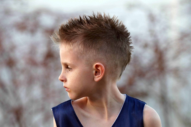 Boys Mohawk Fohawk Haircut Tutorial Fauxhawk Via Youtube Hair