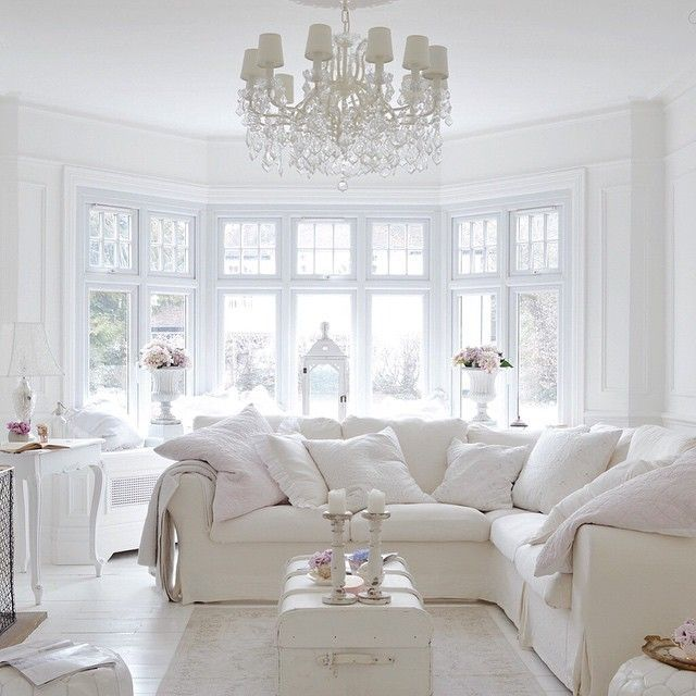 3 5 Images Of Inspiration Allwhiteroom 04 White And Faded11 30 Imagens 25 06 15 White Home Decor White Rooms Home Decor