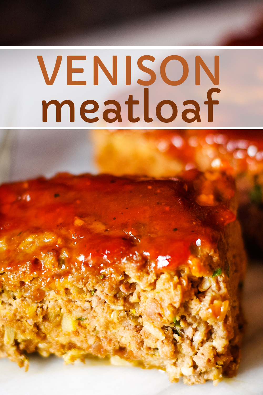 This Venison Meatloaf Recipe Is Super Moist Delicious And Easy To Make Made With Hearty Ingredient Venison Recipes Venison Meatloaf Venison Meatloaf Recipe