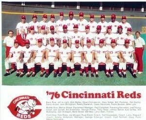 Rojos de Cincinnati, Campeones 1976