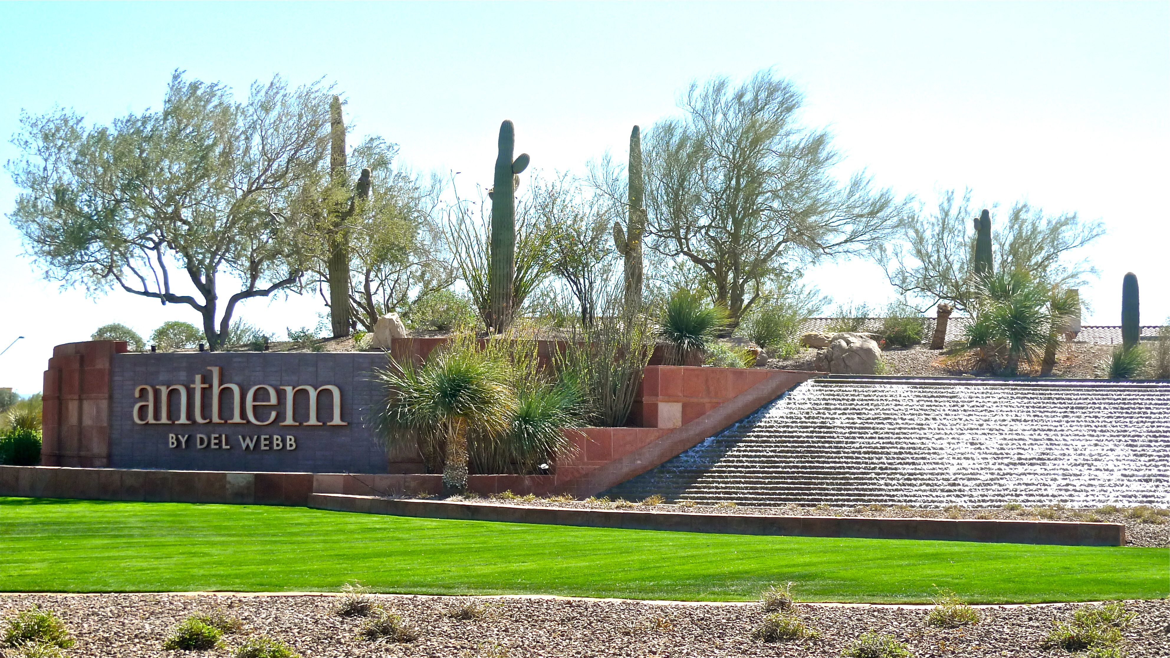 Anthem Az By Del Web Popped Up On The Map 1999 Residents Of The