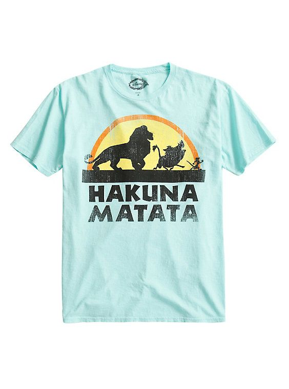 55a1935ac011 Disney The Lion King Hakuna Matata Vintage T-Shirt in 2019 | Disney ...