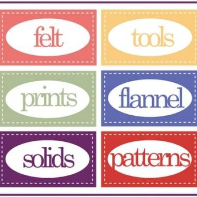 Printable Sewing Room Labels Sewing Room Organization