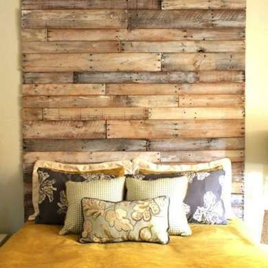 15 Shipping Pallet Projects for the DIY Home | Palets, Dormitorio y ...