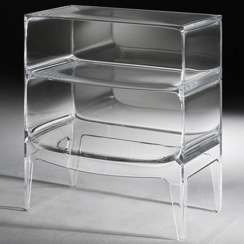 philipe starck ghost buster side table for kartell | mech design
