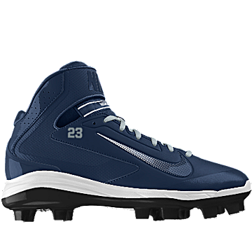 sneakers for cheap fbdcb cf7aa NIKEiD is custom making this Nike Air Huarache Pro Mid MCS iD Men s  Baseball Cleat for me. Can t wait to wear them!  MYNIKEiDS   Baseball Cleats    Baseball ...