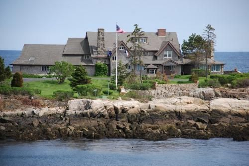 Kennebunkport ME President Bush home