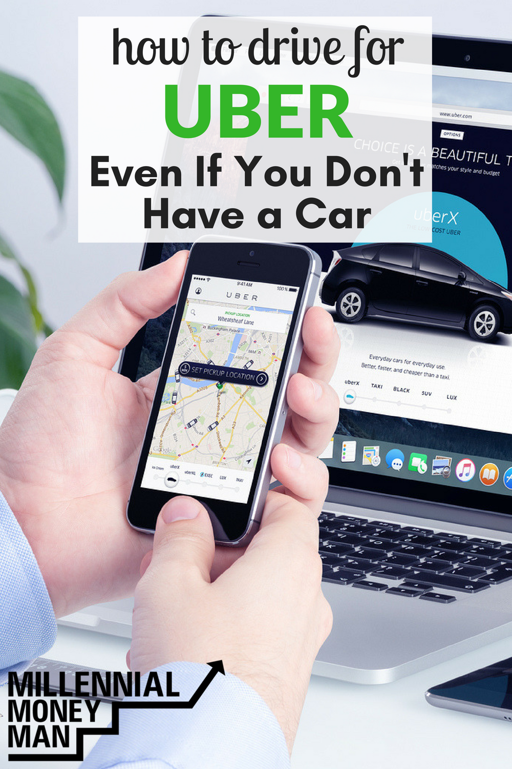 How To Drive For Uber Even If You Don't Own A Car